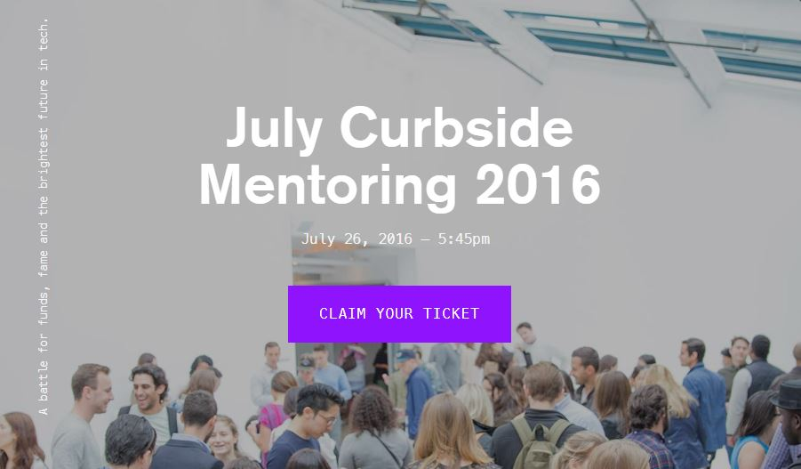 July Curbside Mentoring 2016