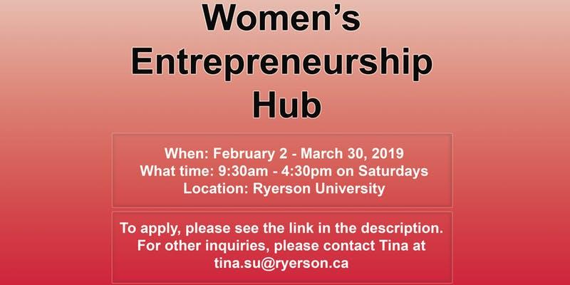 Women's Entrepreneurship Hub