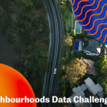 Healthy Neighbourhoods Data Challenge Logo at MaRS Discovery District June 6, 2019