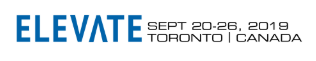 Elevate Tech Conference, Toronto Sept 20-26, 2019