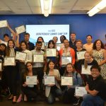 22 participants of the 2019 startGBC Entrepreneur Summer Camp