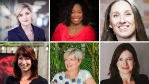 Shari Mogk-Edwards, Tamara Johnson, Lisa Hartley, Carrie Bois, Stephanie Bowman and Doina Oncel