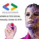 GDG Cloud Toronto Women In Tech Event Logo