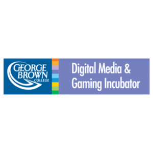 George Brown College Digital Media and Gaming Incubator Logo