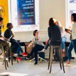workshop attendees at parkdale centre for innovation