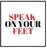 Speak on your feet_logo