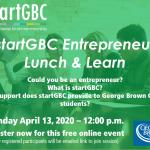 startGBC Lunch & Learn April 13, 2020