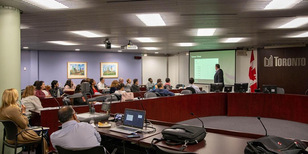 Enterprise Toronto Workshop