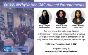 Fashion WhyNotMe with Betsy Campos, Monah Water and Emefa Kuadey