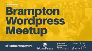 Brampton WordPress Meetup