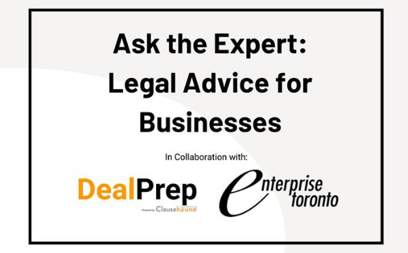 Ask the Expert: Legal Advice from Deal Prep powered by Clausehound