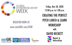 GEW Creating the Perfect Pitch