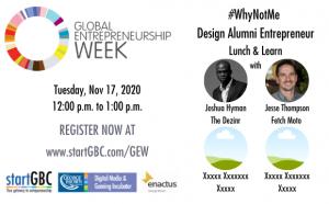 School of Design #WhyNotMe Entrepreneur Panel Discussion