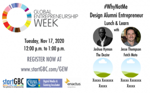#WhyNotMe Design Alumni Entrepreneurs Panel Discussion
