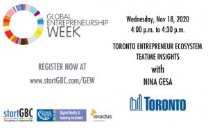 Toronto Entrepreneur Ecosystem