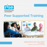 Rise Peer Supported Training Program Logo