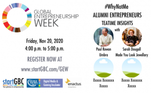 George Brown College Global Entrepreneurship Week #WhyNotMe