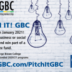 Pitch It! GBC Logo