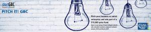 startGBC Pitch It GBC Competition Logo