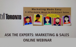 Ask the Expert - Marketing & Sales Webinar