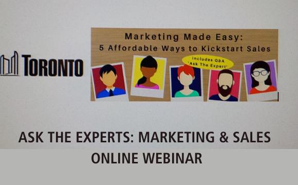 Ask the Expert - Marketing & Sales Webinar