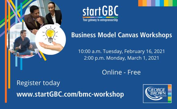 Business Model Canvas Free Workshops