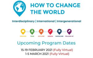 How to Change the World Sustainability Challenge event logo