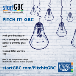 Pitch It GBC Competition Marketing logo