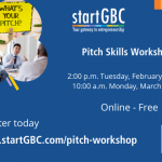 Free Pitch Skills Workshops