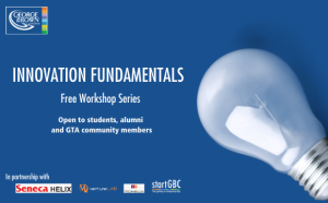 Innovation Fundamentals Workshop Series