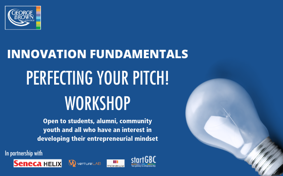 Innovation Fundamentals Perfecting Your Pitch Workshop