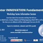 Innovation Fundamentals Winter Info Session