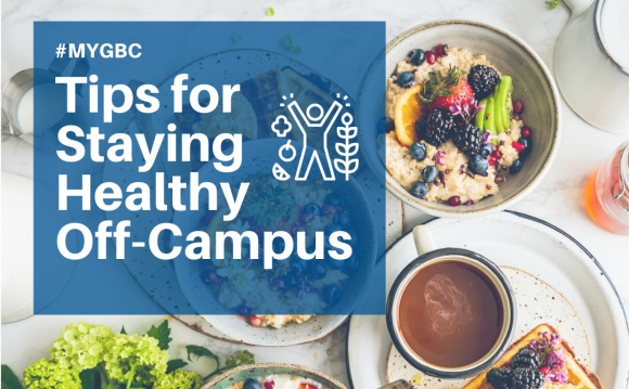 Tips for staying healthy off-campus Thumbnail