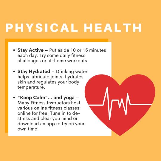 Physical Health Tips