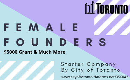 Female Founders_Starter Company_City of Toronto