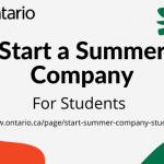 Start a Summer Company