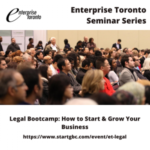Legal Bootcamp - How to Start & Grow Your Business