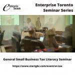 General Small Business Tax Literacy Seminar