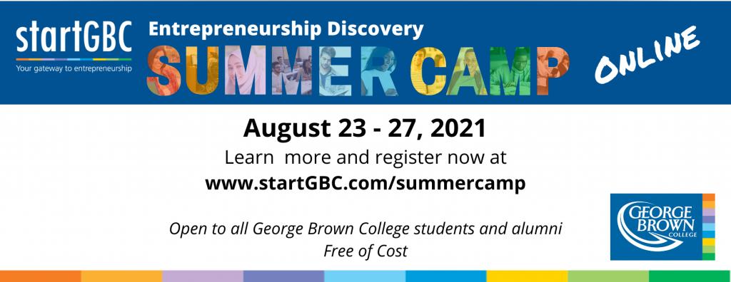 startGBC Summer Camp 2021_Online