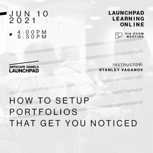 How to setup portfolios that get you noticed_Launchpad Learning