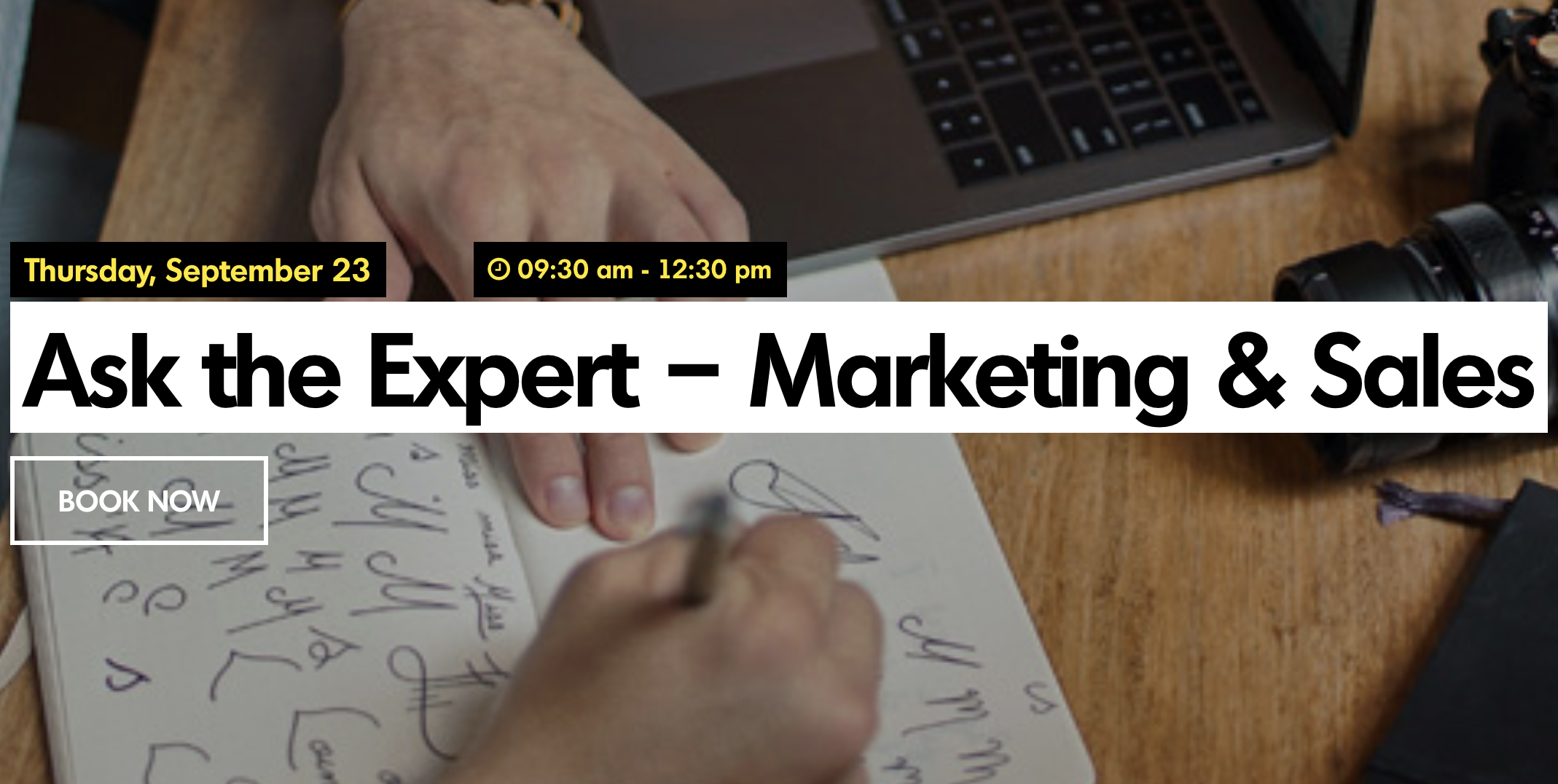 Ask the Expert - Marketing & Sales