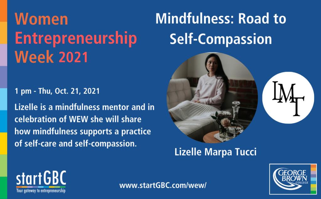 Women Entrepreneurship Week 2021_Mindfulness_Lizelle Marpa Tucci