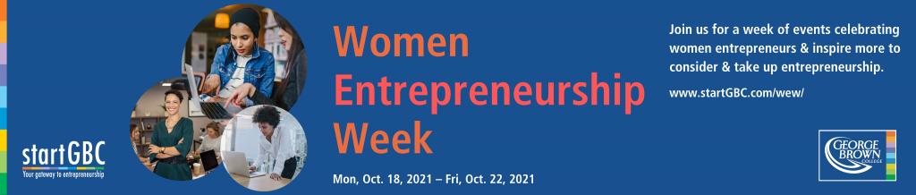 Women Entrepreneurship Week 2021